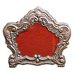 Venetian Style 18th Century Italian Silver Frame Production Bucintoro