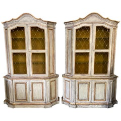 Venetian Style Baroque Revival Style Cabinets, Sold Singly