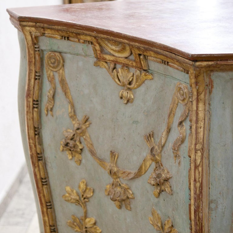 Venetian-Style Chest of Drawers, Probably Southern Germany, 18th Century For Sale 2