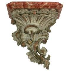 Venetian Style Faux Marble Plaster Bracket