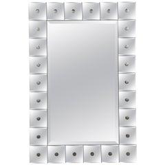 Venetian Style Mirrored Framed Mirror