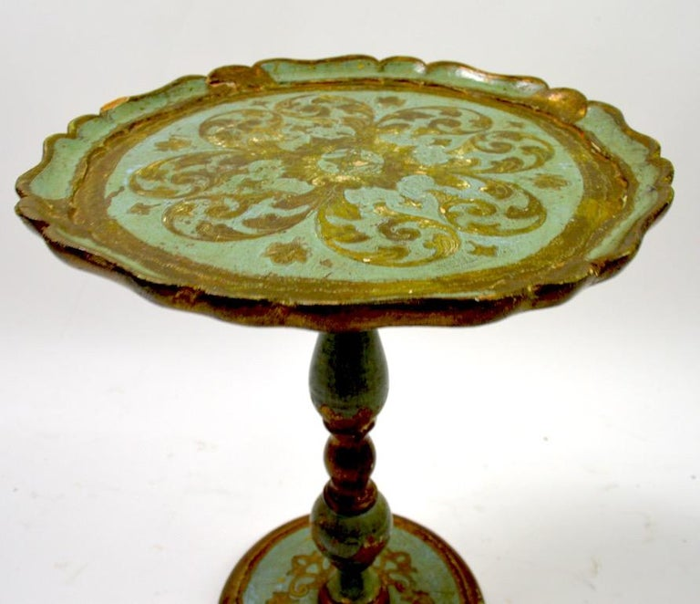 Venetian Style Table Made in Italy In Distressed Condition In New York, NY