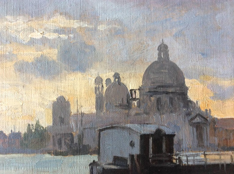 Other Venezia Painting by August Fischer, 1854-1921 For Sale