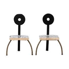 """Venezia"" Side Chairs by Markus Friedrich Staab"