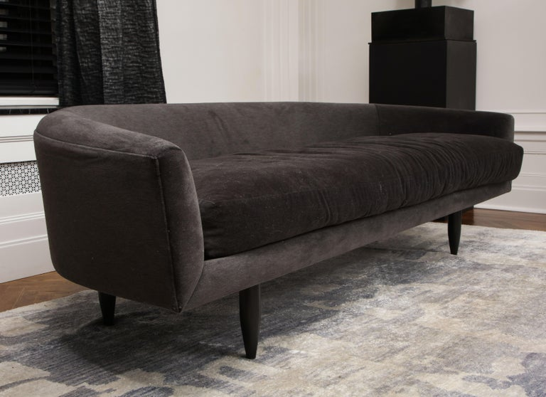 Stained Venfield Custom Gondola Sofa For Sale
