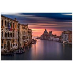 Venice Sunrise Color Photography, Fine Art Print by Rainer Martini