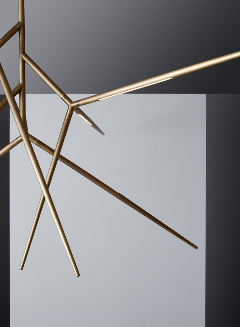 Italian VeniceM Spear Chandelier by Massimo Tonetto For Sale