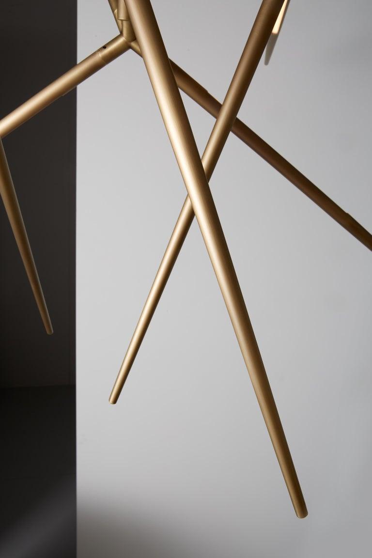 VeniceM Spear Extra Small Chandelier by Massimo Tonetto In New Condition In Mogliano Veneto, TV