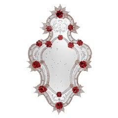Venier Murano Glass Mirror
