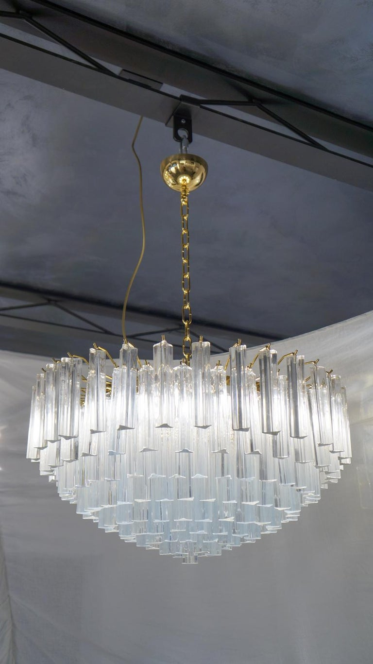 Venini Attributed Crystal Murano Glass