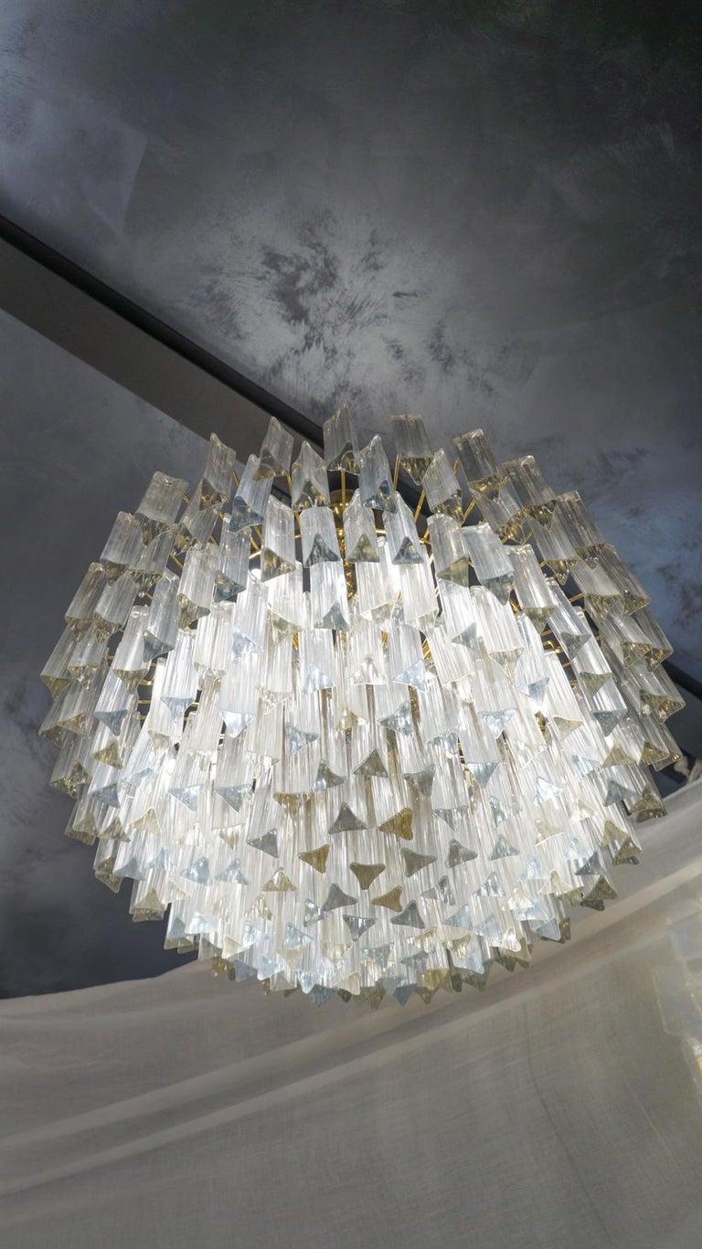 Italian Venini Attributed Crystal Murano Glass