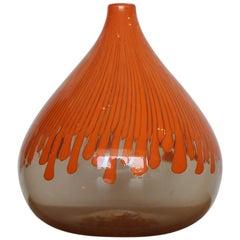 """Venini """"Cannette"""" Vase by Ludovico Diaz de Santillana"""