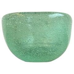 """Venini Carlo Scarpa """"Ciottola"""" Murano Glass, 1930, Italy"""