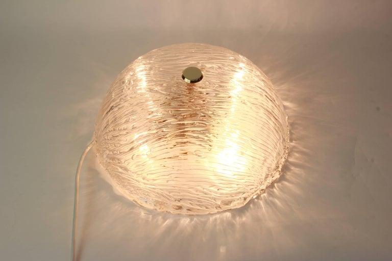 Venini Ceiling Lights Attributed to Carlo Scarpa for Venini, 1950s In Good Condition For Sale In Aachen, DE