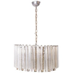 Venini Chandelier in Murano Glass, 1950s