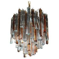 Venini Chandelier in Murano Glass