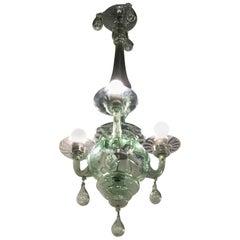 Venini Chandelier Murano Glass, 1930, Italy