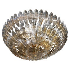 Venini Crystal Chandelier, 18 Lights
