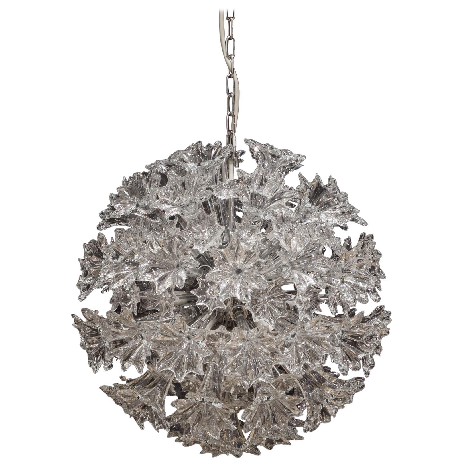 Venini Esprit Crystal Chandelier X-Small