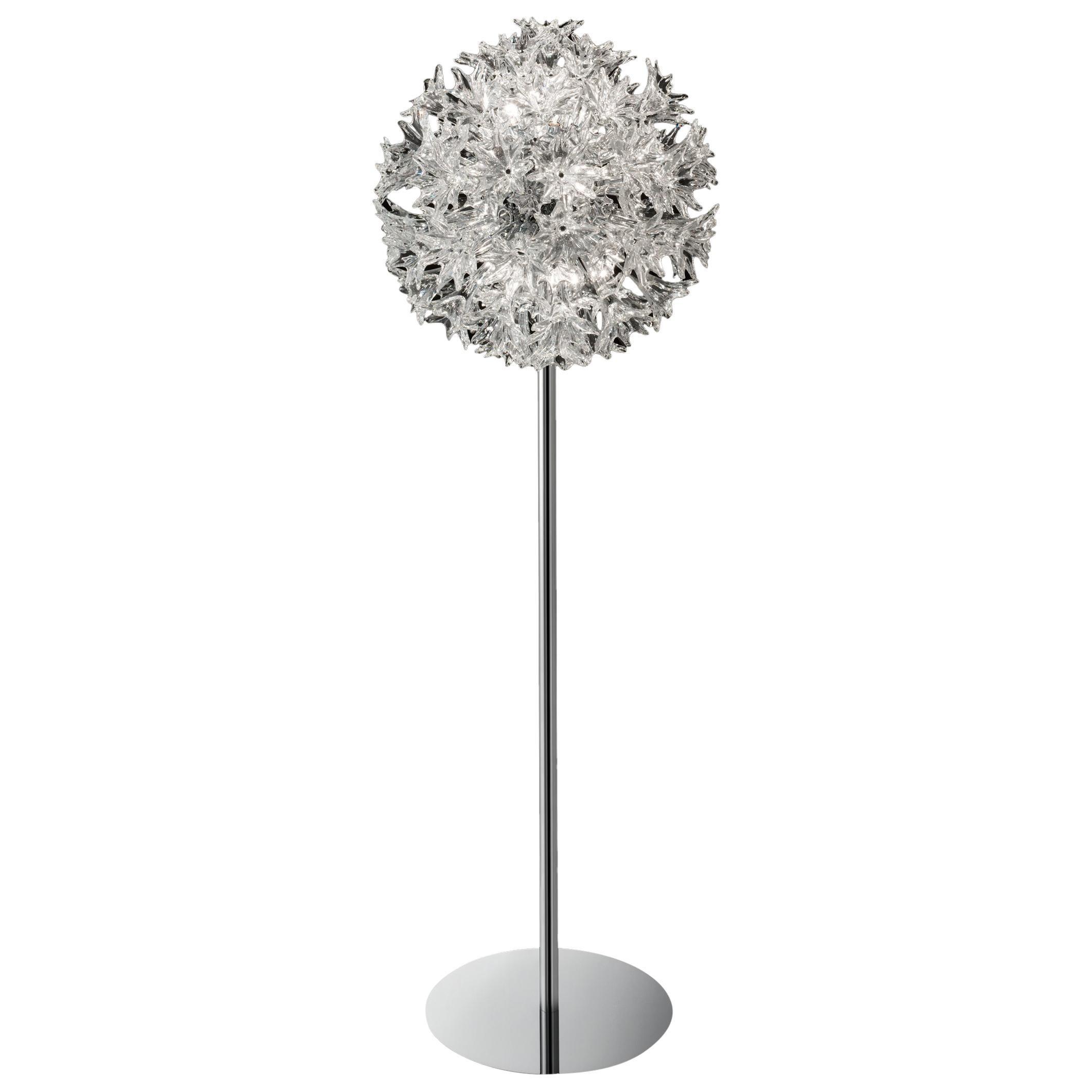 Venini Esprit Floor Lamp in Crystal