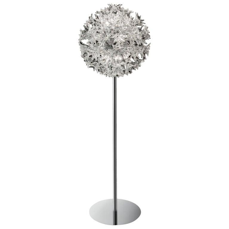 Venini Esprit Floor Lamp in Crystal For Sale