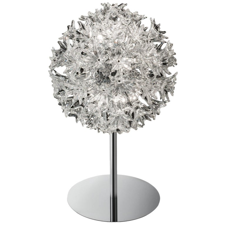Venini Esprit Table Lamp in Crystal For Sale