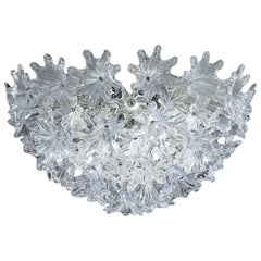 Venini Esprit Wall Light in Crystal