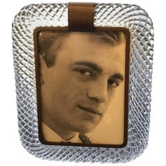 Venini Frame Brass Murano Glass, 1940, Italy
