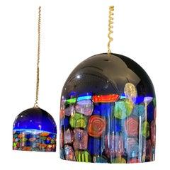 Venini Glass Ceiling Pendants