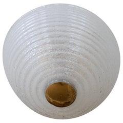 Venini Glass Dome Flush Mount