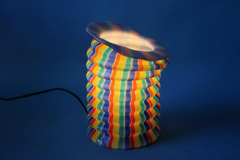 Late 20th Century Venini Glass Table Lamp