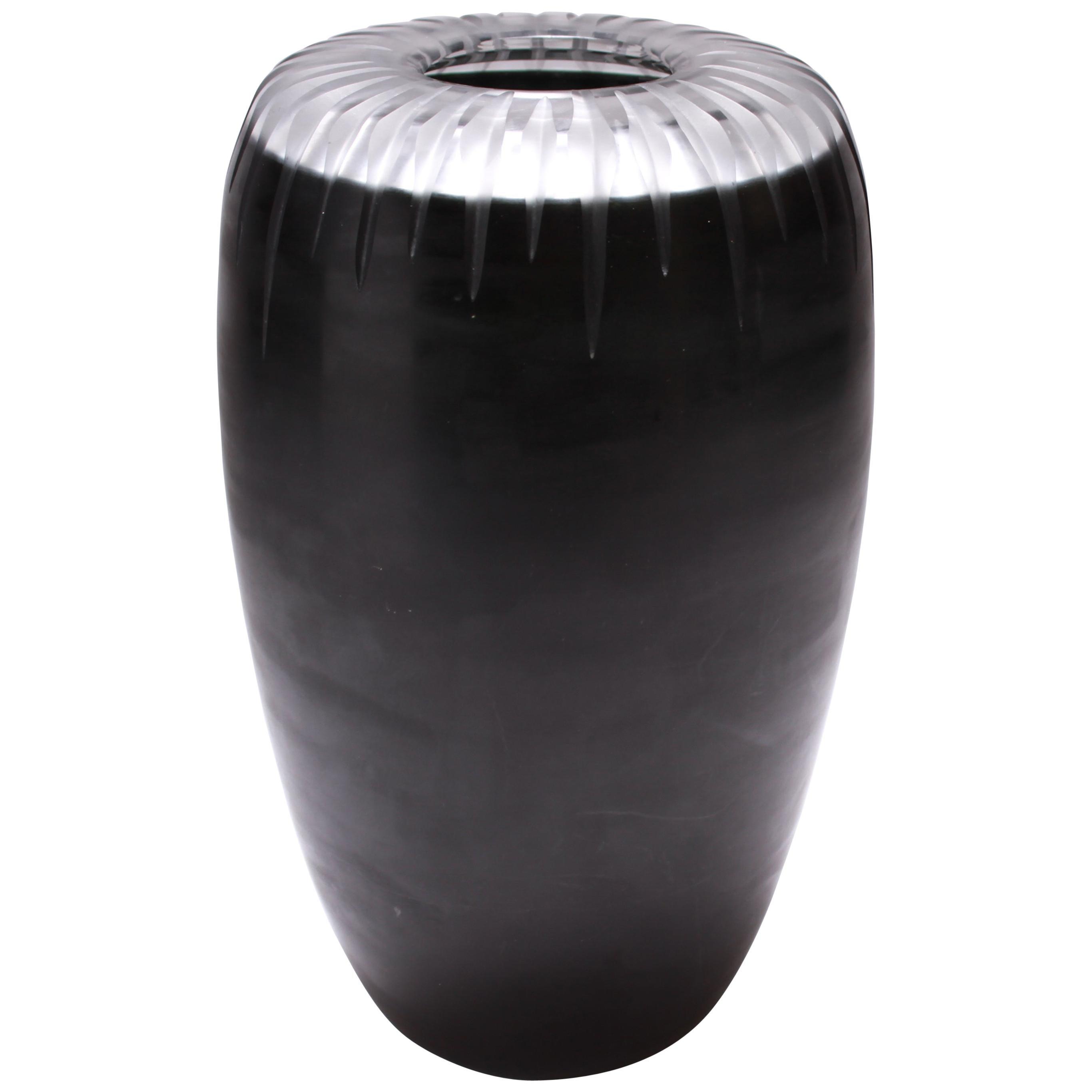 Venini Italian Postmodern Murano Art Glass Vase