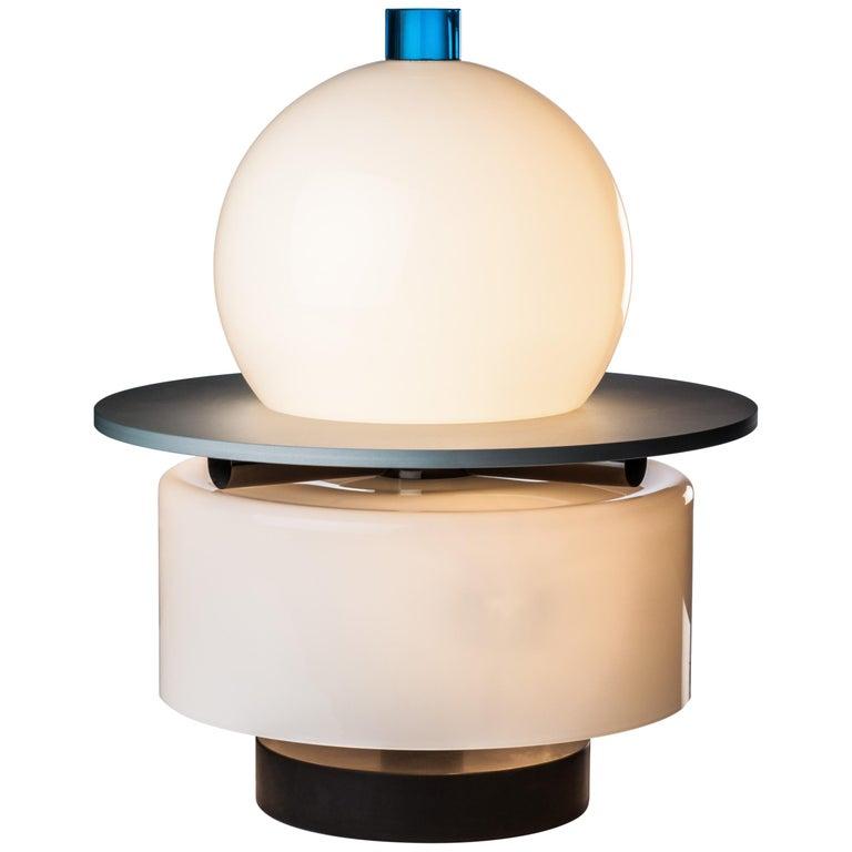 Venini Kiritam Table Lamp by Ettore Sottsass For Sale