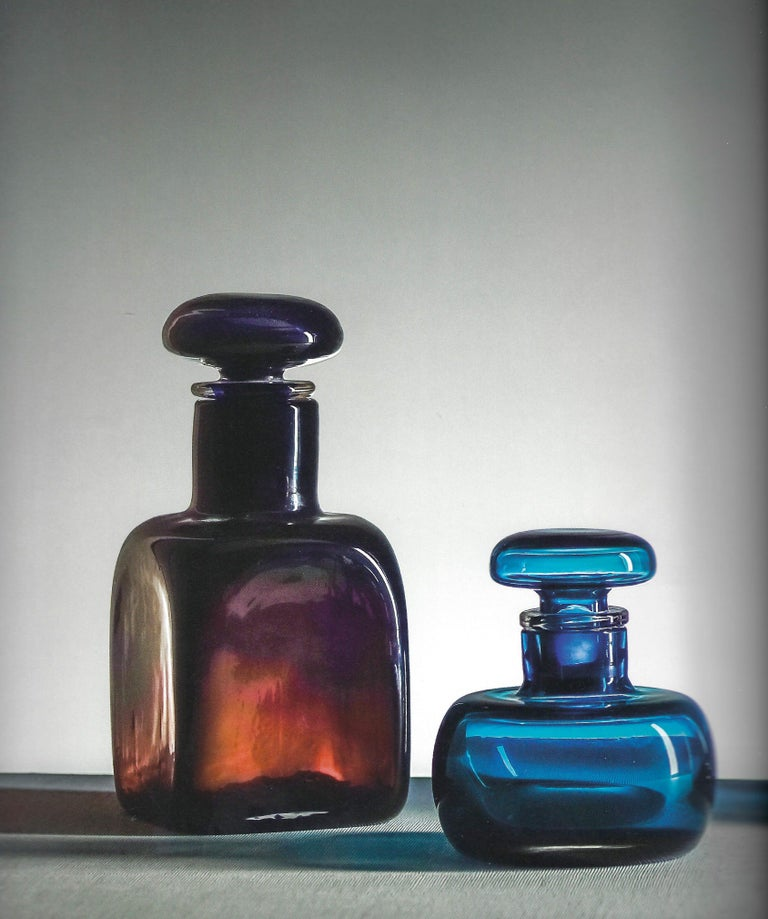 Mid-20th Century Venini Large Bottle with Stopper For Sale