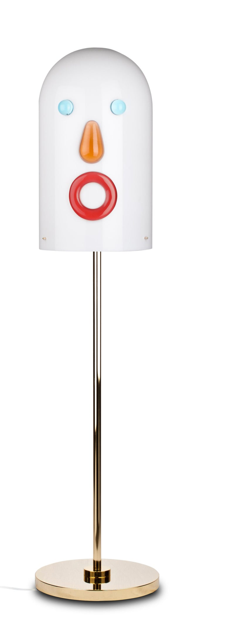 Mae West collection of floor lamps, designed by Studio Job and manufactured by Venini, featuring 5 different shaped lamps. Limited edition of 29 + 9 art pieces (per version). Indoor use only.