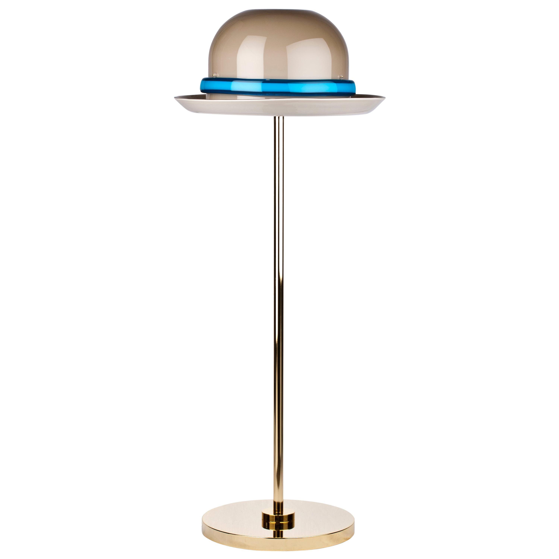 Venini Mae West Hat Floor Light in Brown by Studio Job