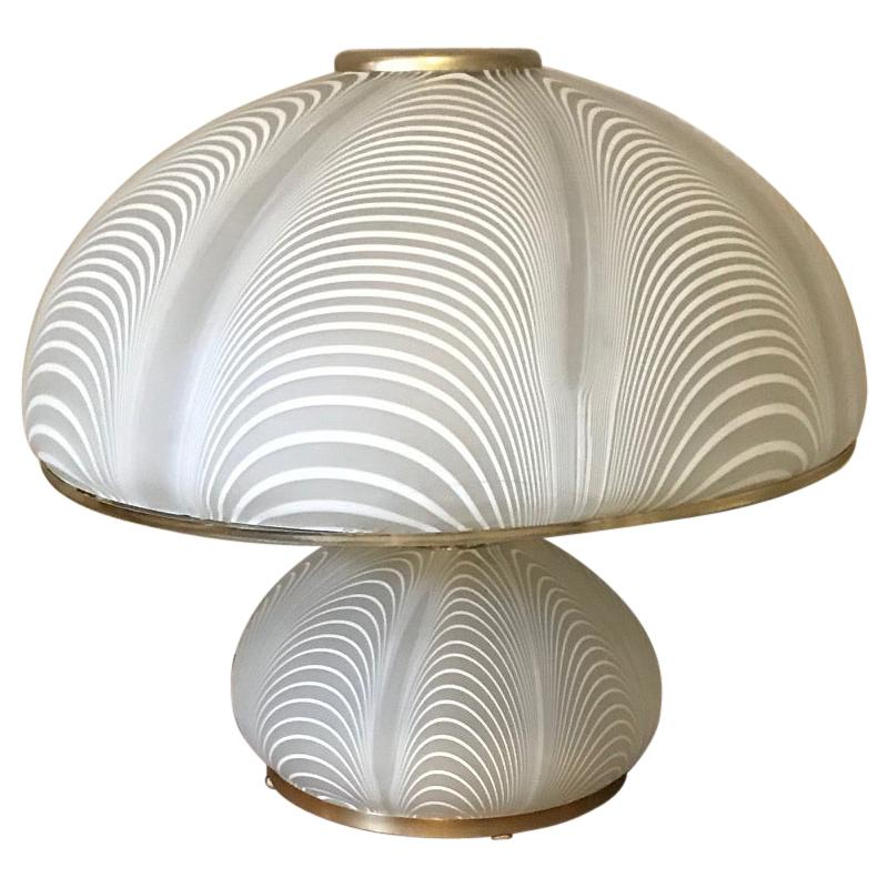 Venini Mid-Century Italian Murano Glass Table Lamp, 1970s
