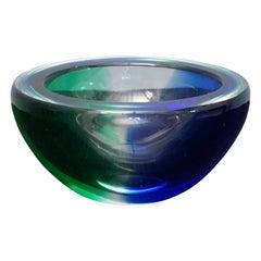 Venini Murano Glass Ashtray, 1960