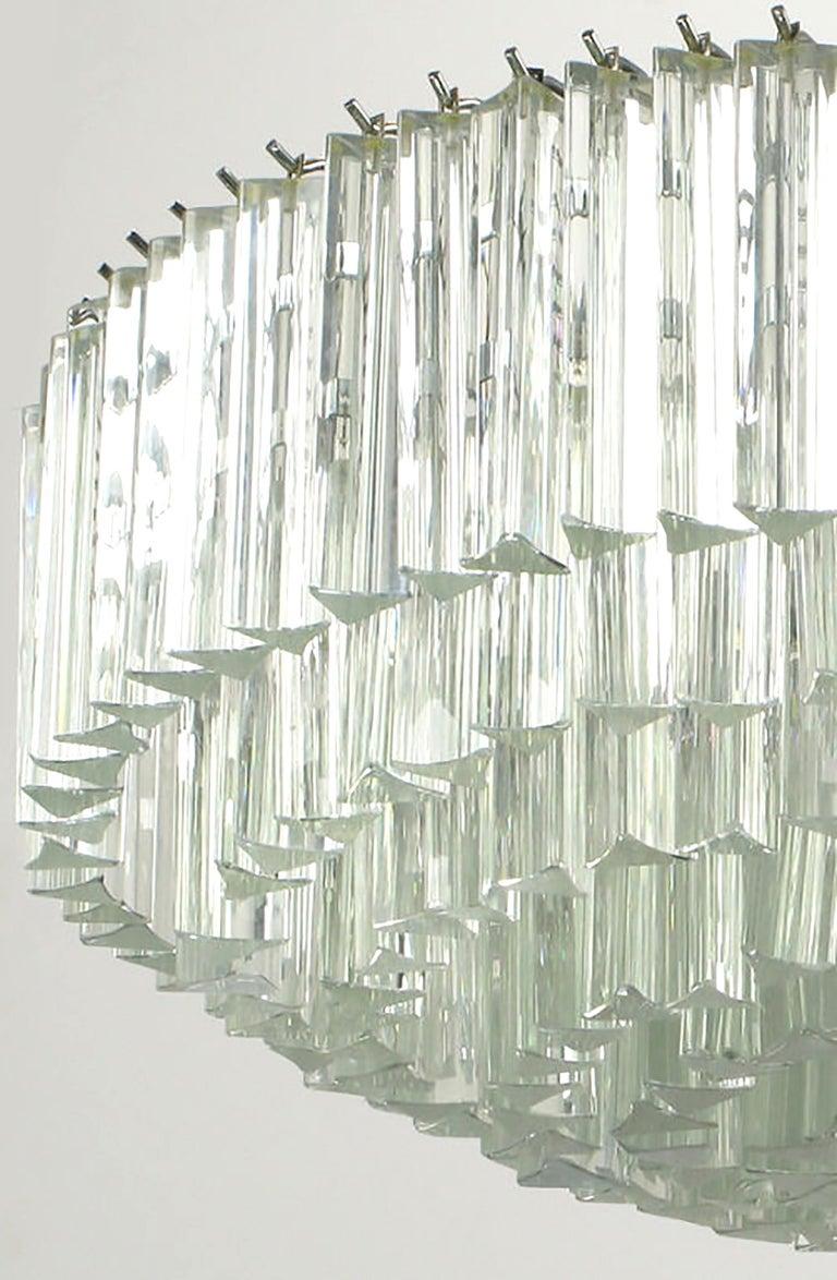 Venini Murano Glass Chandelier For Sale 2