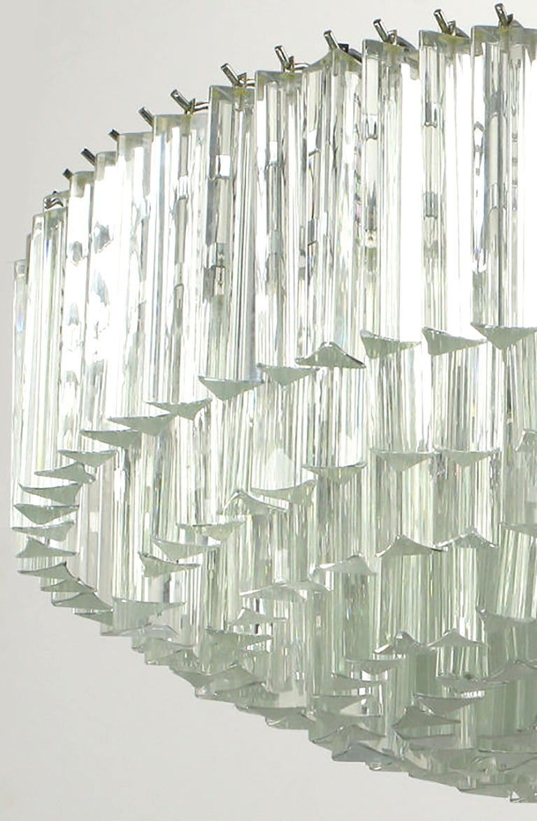 Venini Murano Glass Chandelier For Sale 2