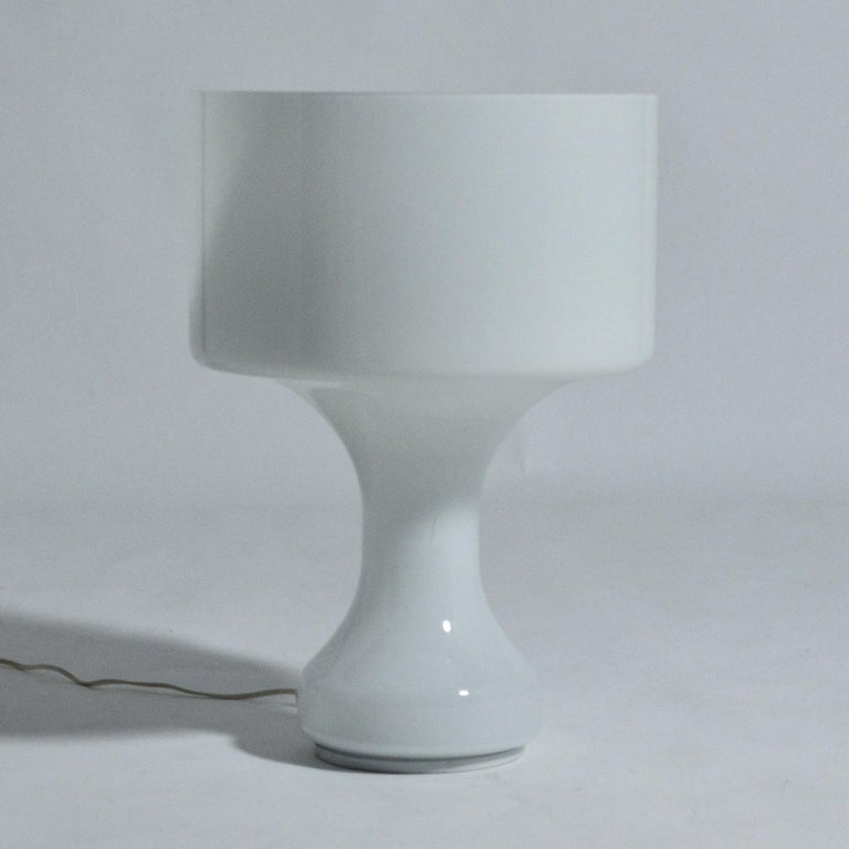 Mid-Century Modern Venini Murano Glass Table Lamp For Sale