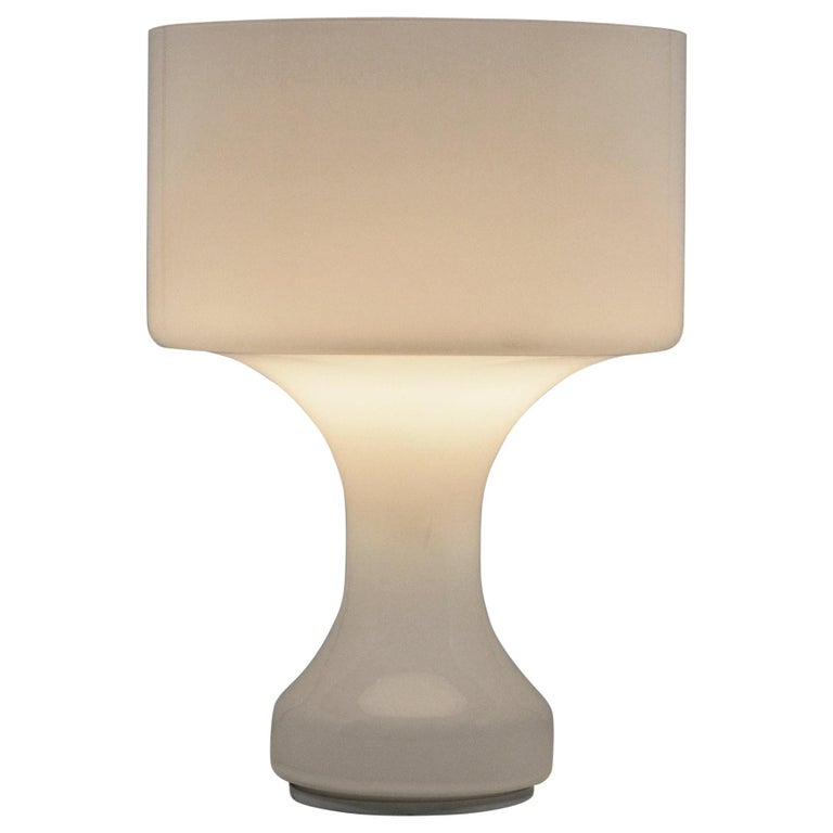 Venini Murano Glass Table Lamp For Sale
