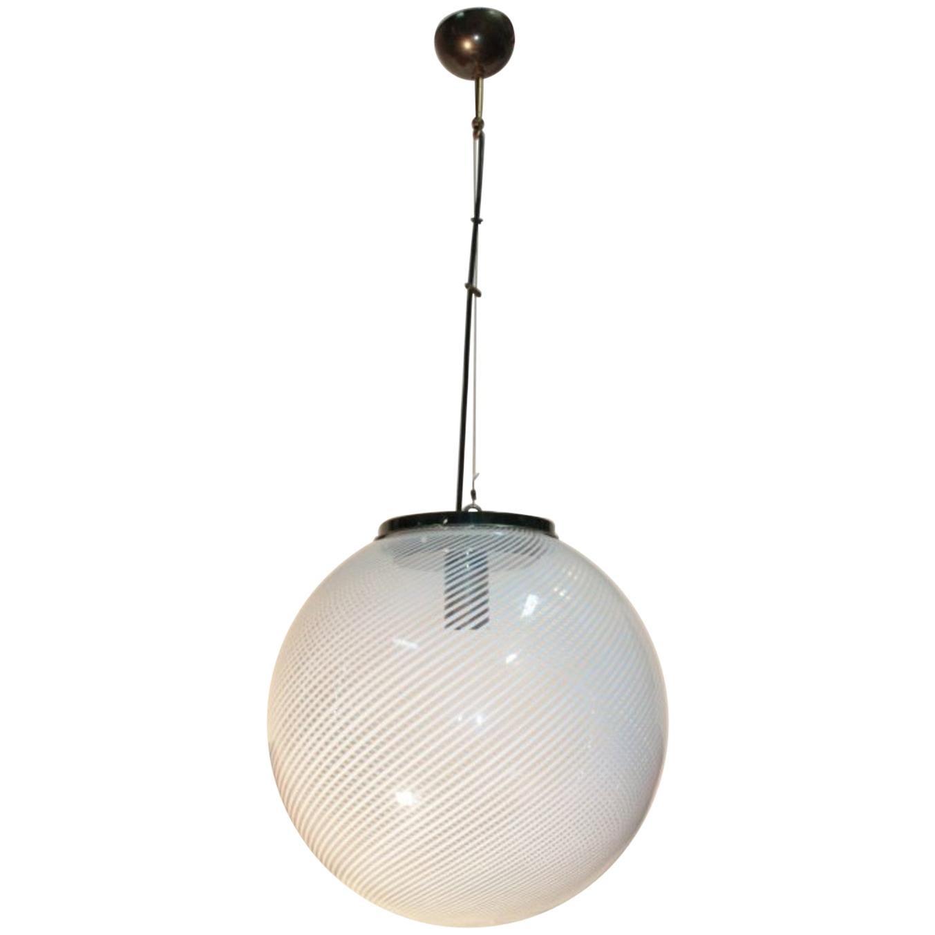 Venini Pendant 1960s Murano Glass