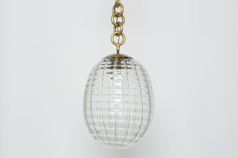 Mid-Century Modern Venini Ceiling Pendant For Sale