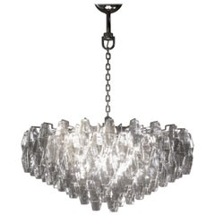 Venini Poliedri Applique Chandelier by Carlo Scarpa