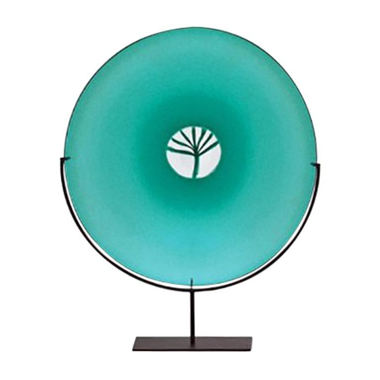 Venini Quattro Stagioni Primavera Glass Sculpture by Laura de Santillana