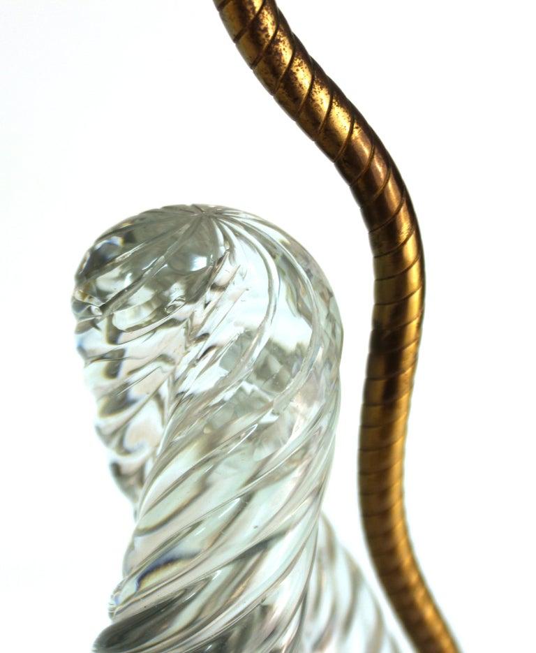 Venini & Scarpa Italian Murano Glass 'Diamante' Table Lamps For Sale 6