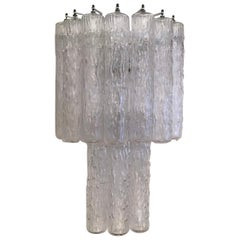 Venini Sconces Murano Glass Metal, 1955, Italy
