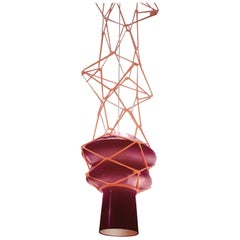 Venini Stelle Filanti Pendant Light in Violet by Atelier Oï