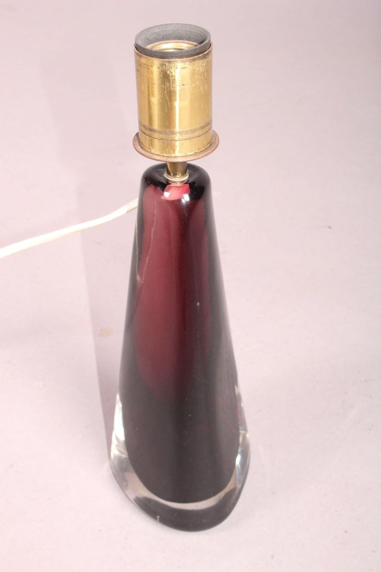 Mid-20th Century Venini Table Lamp For Sale